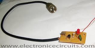 transmitter rf output led indicator circuit diagram electronic