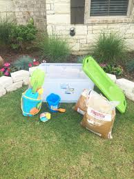 Sand Table Ideas Diy Water And Sand Table Idea Water And Sand Sensory Play Ideas