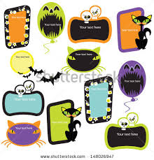 halloween picture frame stock images royalty free images