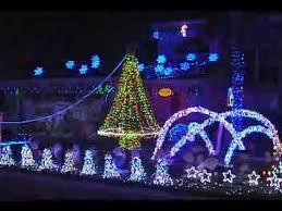 42 000 christmas led lights dance to coca cola holiday song youtube