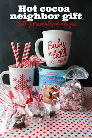 gift mugs with candy stephen s hot chocolate gift a girl and a glue gun