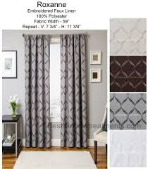 Ready Made Draperies 139 Best Blackout Curtains Room Darkening Draperies Images On