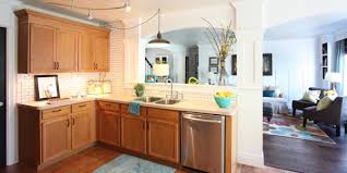 Wooden Kitchen Cabinet Interesting Kitchen Ideas With Oak Cabinets Find This Pin And More