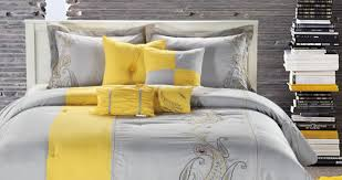 yellow and gray bedding twin xl bedding queen