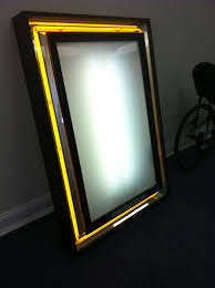 lighted movie poster frame used neon lighted marquee movie poster frame theater chairs movie