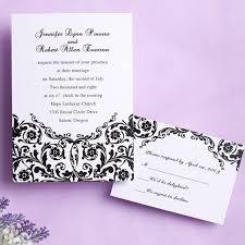 wedding invitations black and white steady black and white wedding invitation iwi101 wedding