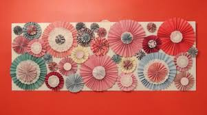 paper fan backdrop trends circle fan rosette backdrops on catch my party catch my