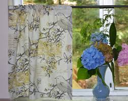 cafe curtains kitchen cafe curtains etsy