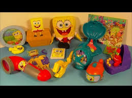 2014 nickelodeon s spongebob squarepants set of 8 mcdonald s happy