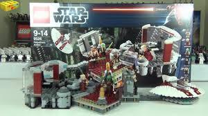 Star Wars Office Lego Star Wars Palpatine U0027s Arrest Set 9526 Review Youtube