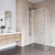 Shower Sliding Door Sliding Door Shower Stalls Enclosures You Ll Wayfair