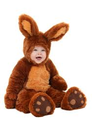 Newborn Halloween Costumes 0 3 Months Infant Brown Bunny Costume
