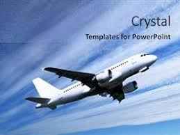 airplane powerpoint templates crystalgraphics