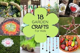 Garden Crafts For Children - 18 top garden crafts for kids will love making