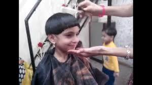 hair cut pics for 6 year girls mashroom haircut how to make mashroom hair cut youtube