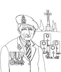 coloring pages remembrance day veteran coloring pages remembrance day veteran at graveyard coloring