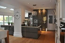Grey Kitchen Cabinets Limestone Countertops Dark Gray Kitchen Cabinets Lighting Flooring