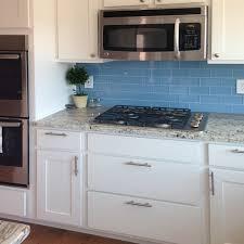 white kitchen cabinets with blue subway tile kitchen backsplash pictures subway tile outlet