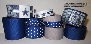 dallas cowboy ribbon grosgrain dallas cowboys ribbon lot for bows 10 yds ebay