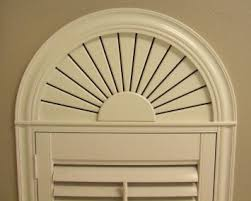 Circle Window Blinds Arched Window Shutter For Half Circle Window Above Door Bedrooms