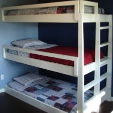 Remarkable Triple Bunk Bed With Mattresses Photo Design - Triple bunk beds with mattress