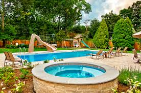 Landscaping Ideas For The Backyard by Hot Tub Landscaping For The Beginner On A Budget