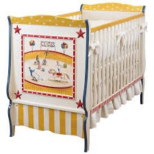 Circus Crib Bedding Cheerful Baby Crib Design Alternative Circus Painting