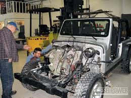 jeep wrangler unlimited diesel conversion jeep diesel engine diesel tech diesel power magazine