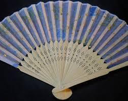folding fans folding fan etsy