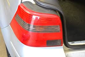 volkswagen golf gti mk iv taillight bulbs and assembly replacement
