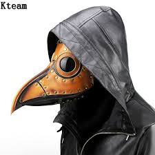leather plague doctor mask hot pu leather vintage rock plague doctor mask