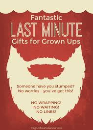 last minute gifts for 5 fantastic last minute gifts for grown ups the hearted woman