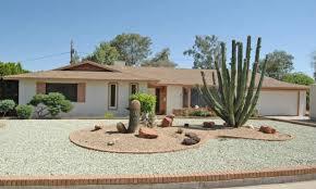 attractive front yard desert landscaping ideas u2014 bistrodre porch