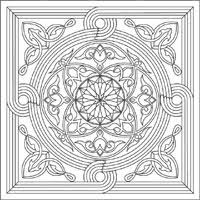 mandala coloring pages surfnetkids