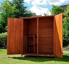 armadi in legno per esterni mobili contenitori da esterno in legno il meglio design d