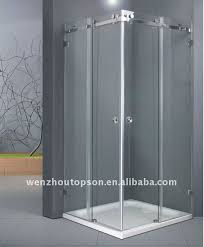 Sliding Shower Screen Doors Rectangular Shower Screen With Sliding Door View Shower Screen