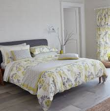 grey and yellow king duvet cover home design ideas
