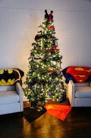 batman vs superman tree theme pop culture