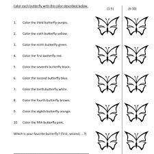 free worksheets ordinal number worksheet free math worksheets