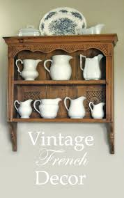 vintage shelf ideas french decor country shelves kitchen wall