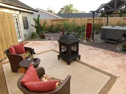 the perfect place for a portable fire pit and outdoor fireplace