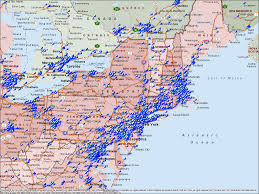 map of eastern usa and canada map of eastern usa map of eastern usa map of