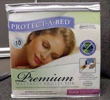 protect a bed p0135 premium waterproof mattress protector queen ebay