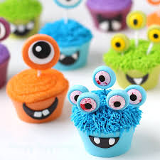 halloween cupcakes cupcake monsters with edible cupcake wrappers