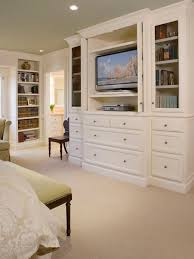 Built In Bookcases With Tv Love This Idea Built Ins To Hide The Tv In The Bedroom Plus The