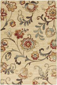 Surya Riley Rug Yellow And Grey Floral Area Rug Creative Rugs Decoration