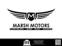 chrysler jeep logo logo design contests marsh motors chrysler logo design design