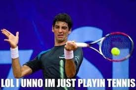 Tennis Memes - lol i dunno i m just playing tennis memes and comics