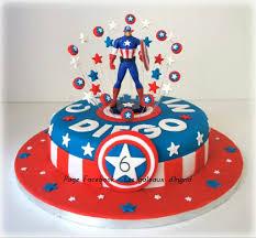 captain america cakes captain america cake pinteres