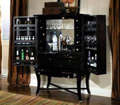 Black Bar Cabinet Choosing Bar Cabinets To Add Stylish And For Your Home